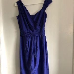 Stunning royal blue silk dress  Andrew Marc  dress